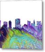 Columbus Skyline 3 Metal Print