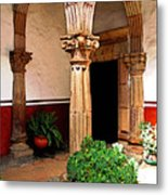 Column And Pilasters Metal Print
