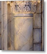 Column Decor Metal Print