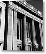 Columns And Buildings Metal Print