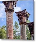 Columns Of Windsor Ruins Metal Print