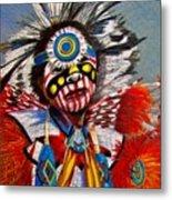 Comanche Dance Metal Print