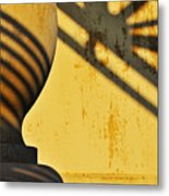 Comb Over Metal Print