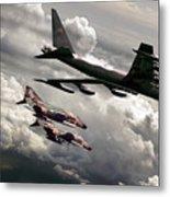 Combat Air Patrol Metal Print