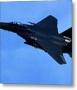 Combat Jet Metal Print