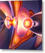 Combustion Abstract Metal Print