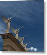Come Blow Your Horn - Angels And Trumpets - Caesars Palace Las Vegas Metal Print