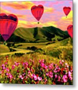 Come Fly With Me Metal Print by Kurt Van Wagner