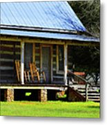 Come On Up - Sit A Spell Metal Print