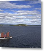 Come Sail Away Metal Print