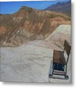 Come Sit Awhile In Death Valley Metal Print