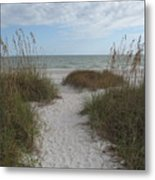 Come To The Beach Metal Print