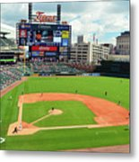 Comerica Park, Home Of The Detroit Tigers Metal Print