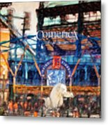 Comerica Tigers Detroit Metal Print