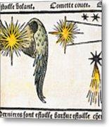 Comet, 1496 Metal Print