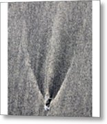 Comet Metal Print by Peter Tellone