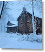 Comfort From The Cold Metal Print