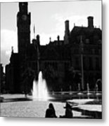 Comforted By The City Metal Print
