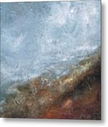 Coming Out Of A Fog Metal Print