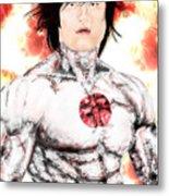 Command Sgt. Major Shikishima Metal Print