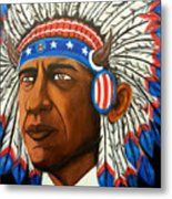 Commander And Chief Metal Print