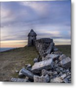 Commedagh Summit Shelter Metal Print