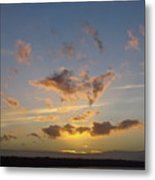 Commencement Bay Sunset Metal Print