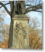 Commodore John Barry Monument Metal Print