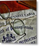 Commonwealth Of Pennsylvania Metal Print