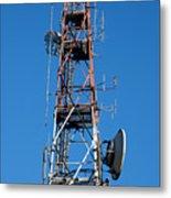 Communications Tower Metal Print