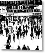 Commuter Art London Sketch Metal Print