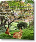 Compassion And Goodness Metal Print