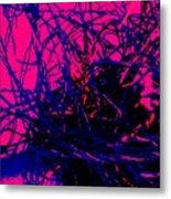 Complex Abstract Metal Print