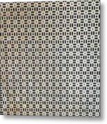 Complex Patteren Metal Print