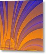 Complimentary Colors Metal Print