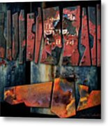 Composition 2 Metal Print