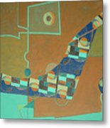 Composition IIi-07 Metal Print