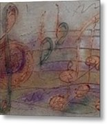 Composition In B Flat Metal Print
