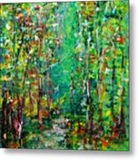 Compost Metal Print by Chaline Ouellet