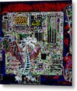 Computer 22 Metal Print