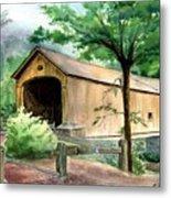 Comstock Bridge Metal Print