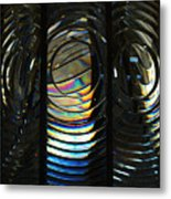 Concentric Glass Prisms Metal Print