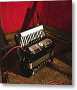 Concertina On The Floor Metal Print