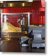 Concession Stand Metal Print by Andersen Ross