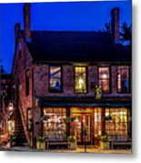 Concord Market And Cafe Metal Print