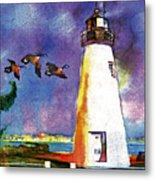 Concord Point Lighthouse Metal Print by Dean Gleisberg