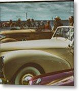 Concours Vintage Car Show Metal Print