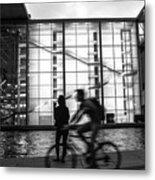 Concrete And Glass Metal Print