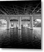 Concrete Bridge Metal Print
