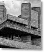 Concrete - National Theatre - London Metal Print